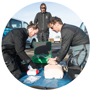PADI Emergency First Response Specialiteit