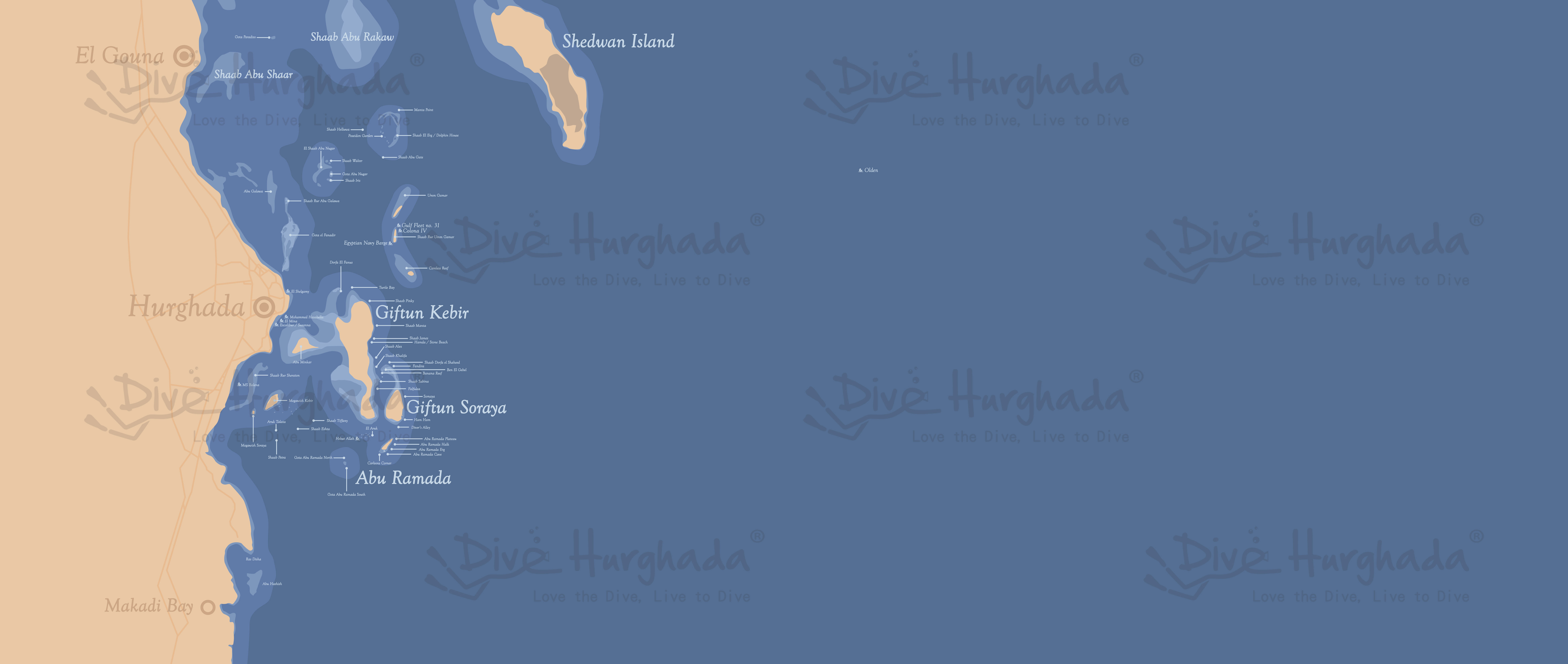 Hurghada Divesites and wrecks